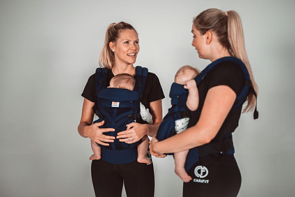 CARiFiT X Ergobaby | Babywearing Workouts | Postnatal Fitness
