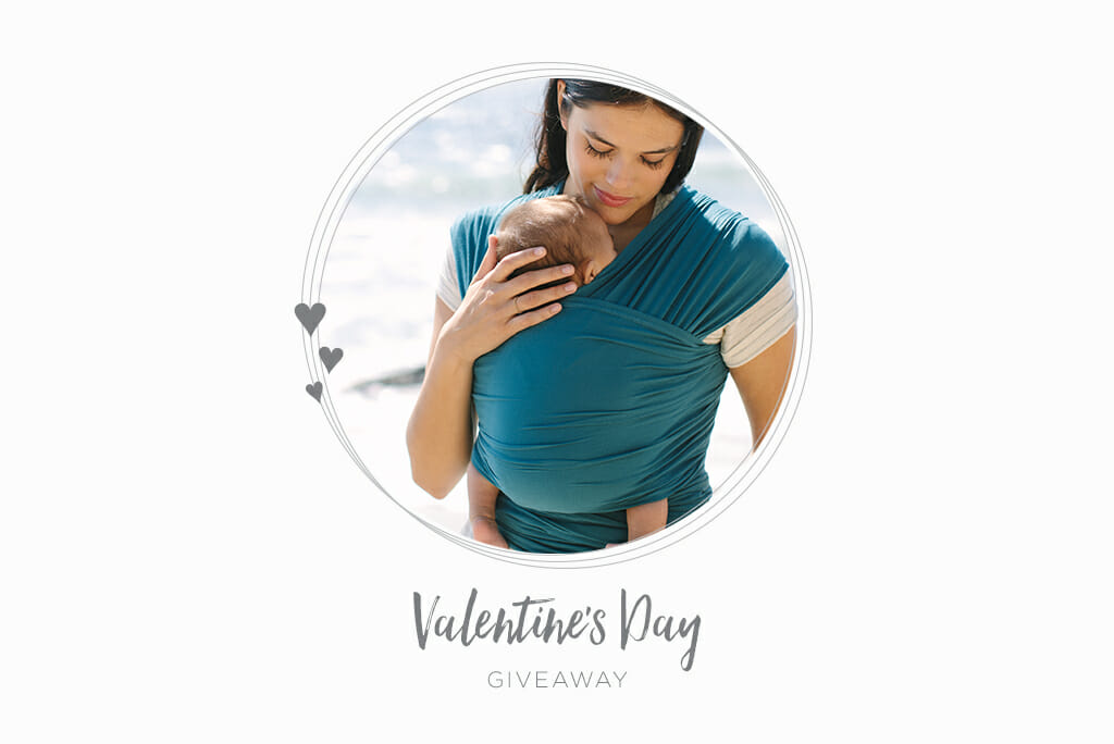 Valentine's Day Giveaway | WIN an Ergobaby Aura Baby Wrap | Ergobaby UK