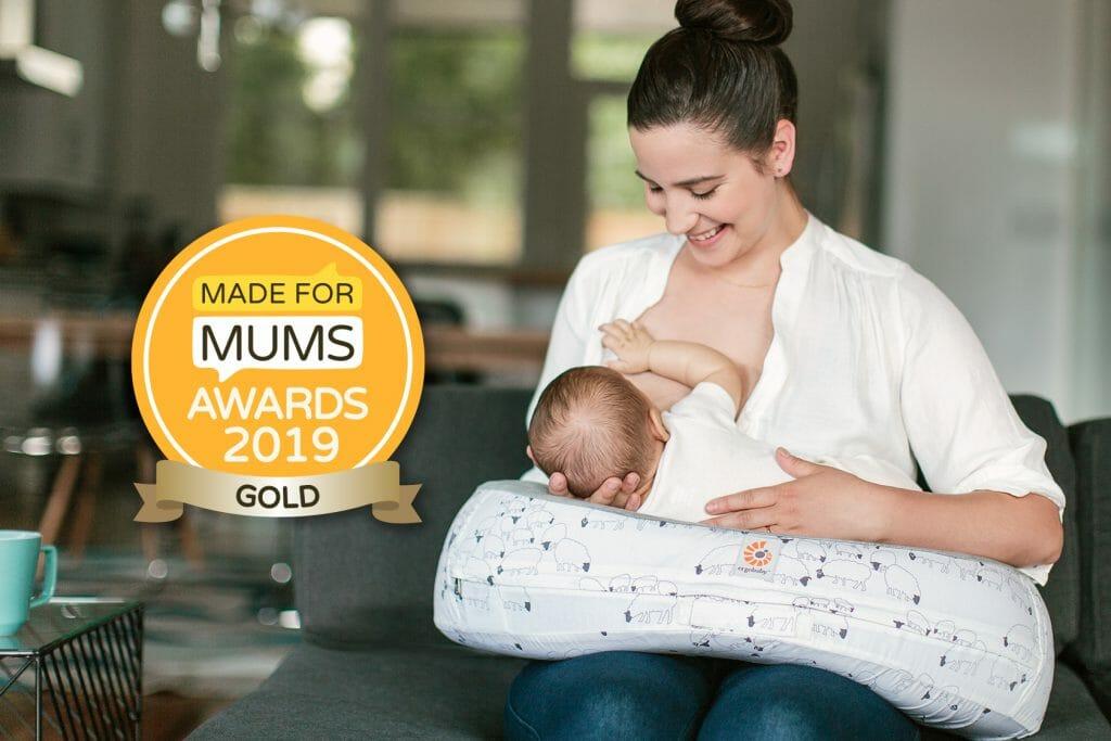 Ergobaby UK | Made for Mum Awards 2019 | Ergobaby Natural Curve Nursing Pillow