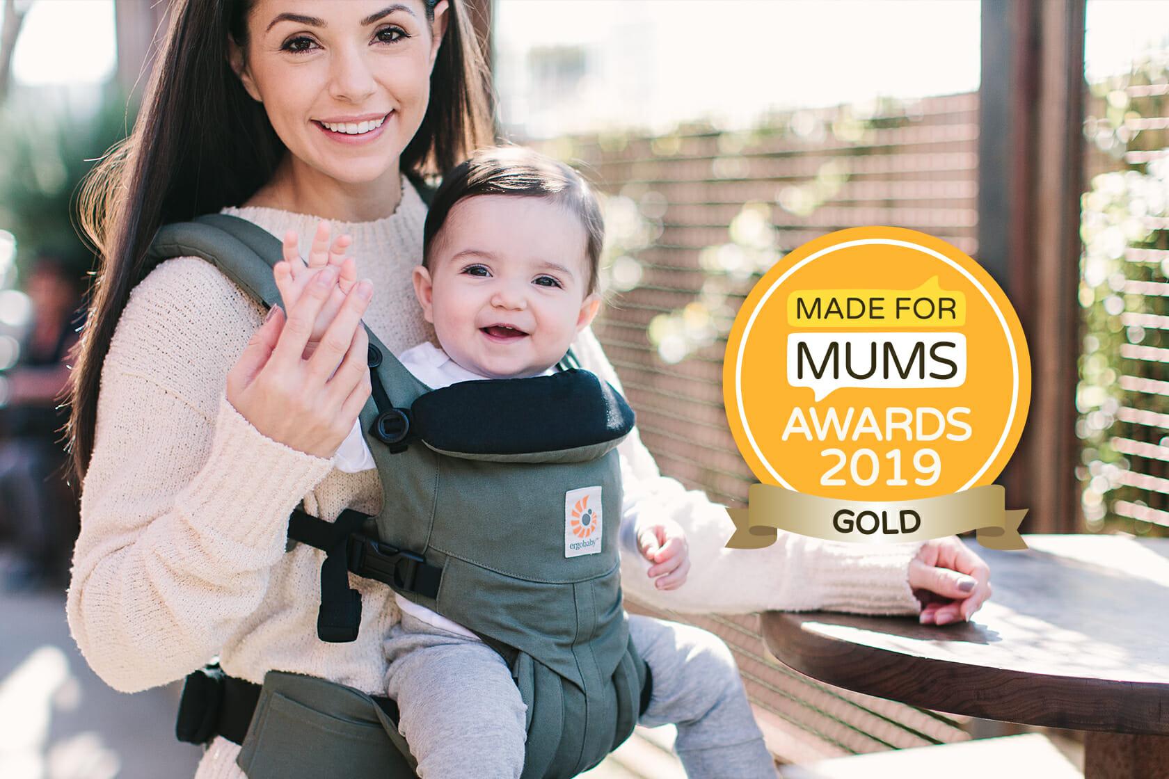 Ergobaby UK | Made for Mum Awards 2019 | Ergobaby Omni 360 Baby Carrier