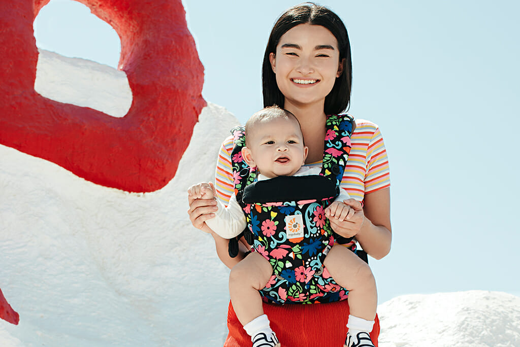 Ergobaby UK | Bold & Beautiful Spring 2019 Fashion Finds | Ergobaby Omni 360 Baby Carrier in Flores