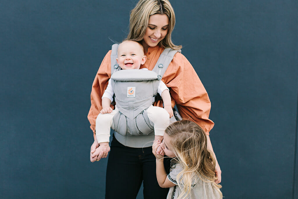 Ergobaby Omni 360 Baby Carrier in Pearl Grey