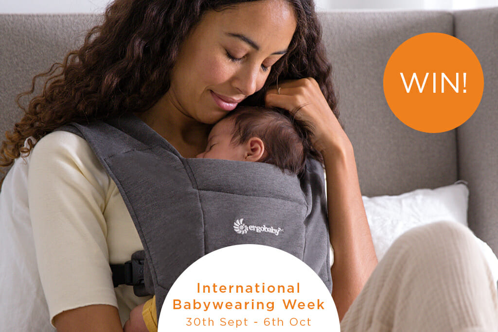 Ergobaby UK | international Babywearing Week 2019 Giveaway | Ergobaby Embrace Newborn Carrier