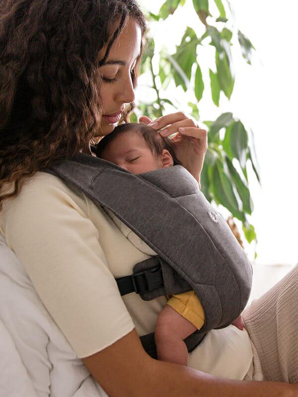 Ergobaby Embrace Newborn Baby Carrier | Heather Grey