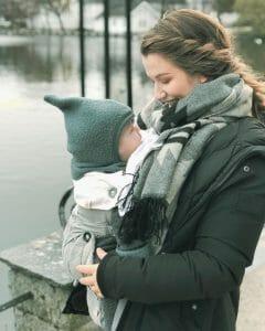 Ergobaby UK | Winter Babywearing Tips | @hildegunnangelica