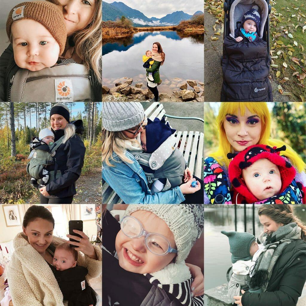 Ergobaby UK | Social Media Collage