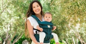 Ergobaby UK | Omni 360 Cool Air Mesh Baby Carrier in Evergreen
