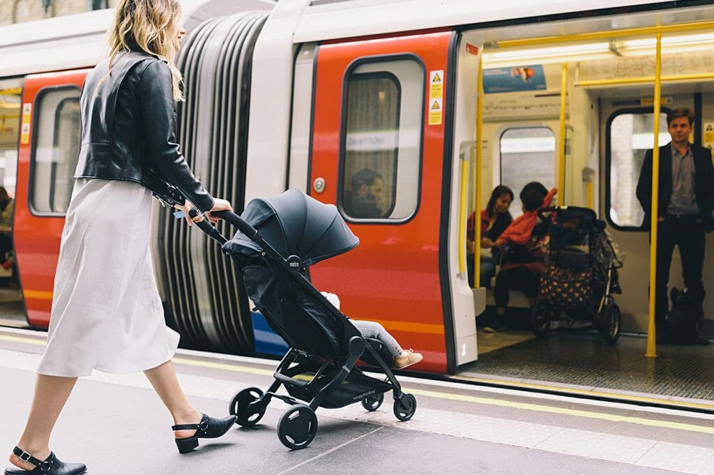 Surviving Family Visits with Baby : 11 Essential Tips | Metro Compact City Stroller in Black